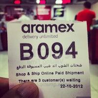 Photo taken at Aramex by Rashid A. on 10/22/2012