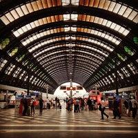 Photo taken at Stazione Milano Centrale by Andrea P. on 7/3/2013