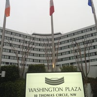 Photo taken at Washington Plaza Hotel by Christian A. on 3/25/2013