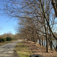 Photo taken at River Walk Trail by Katie A. on 3/19/2013