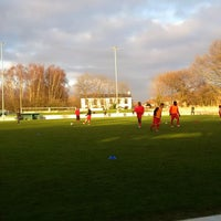Photo taken at Trafford FC by Football S. on 12/26/2013