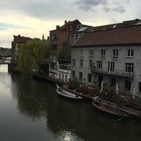 Photo taken at Ghent River Hotel by Önder K. on 4/12/2016