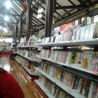 Photo taken at Togamas Bookstore by harsa teguh m. on 1/22/2013