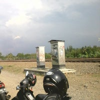 Photo taken at Stasiun Patukan by Dedy W. on 11/4/2013