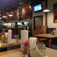 Photo taken at Farm Burger by Hai V. on 1/15/2013