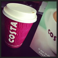 Photo taken at Costa Coffee by Miles T. on 3/21/2013