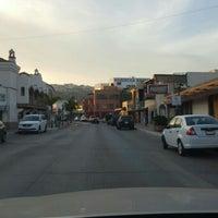 Photo taken at Calle Primera by Juan C. on 2/27/2016