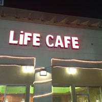Photo taken at Life Cafe by Mei Y. on 11/5/2013