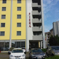 Photo taken at Hotel Fiera by Irena A. on 4/29/2014