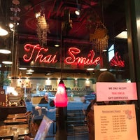 Photo taken at Thai Smile by Johnny G. on 10/7/2016