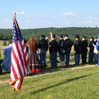 Photo taken at Hall Cemetary by Heidi A. on 7/13/2013