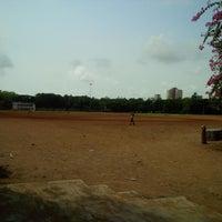 Photo taken at Shivaji Park by Kedar P. on 6/6/2013