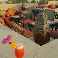 Photo taken at Rooftop Bar Bab Al Shams by Brian J. on 8/14/2016