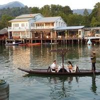 Photo taken at Keereeta Lagoon, Koh Chang by Anjely D. on 2/22/2014