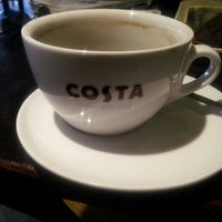 Photo taken at Costa Coffee by Iain D. on 2/21/2014