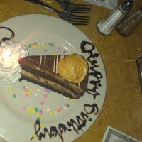 Photo taken at Cheesecake Factory by Candace Y. on 6/6/2013
