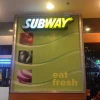 Photo taken at Subway by Megha J. on 3/4/2015