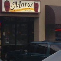 Photo taken at Moros Cuban Restaurant by Janice G. on 3/24/2013