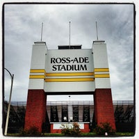 Photo taken at Ross-Ade Stadium by Ben B. on 10/13/2012