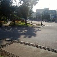 Photo taken at Taman Gunung Agung by Feri N. on 7/30/2014