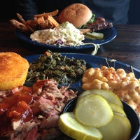 Photo taken at Dinosaur Bar-B-Que by Angela W. on 1/21/2013