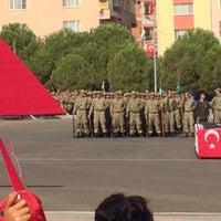 Photo taken at 1.Piyade Eğt. Tugay Komutanlığı Karargâh Bölüğü by Dilara . on 9/5/2014