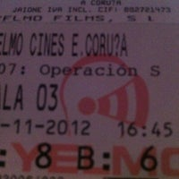 Photo taken at Yelmo Cines Espacio Coruña 3D by Carmen . on 11/10/2012