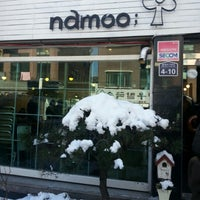 Photo taken at namoo; by Soomin(Simon) S. on 12/6/2012