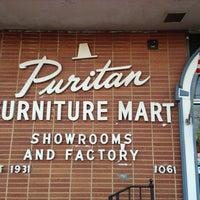 Photo taken at Puritan Furniture by Jacob S. on 11/23/2012
