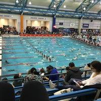 Photo taken at Nassau County Aquatic Center by jody m. on 3/13/2016