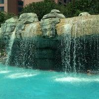 Photo taken at Waterfall Pool by Jennifer C. on 4/6/2013