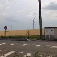 Photo taken at Aire des Plaines de Beauce by Léo on 7/19/2014