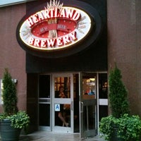 Photo taken at Heartland Brewery by FRAN V. on 6/18/2013