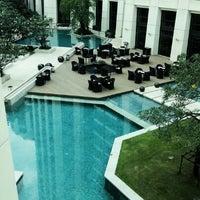 Photo taken at Siam Kempinski Hotel Bangkok by Panuwat T. on 11/22/2012
