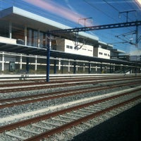 Photo taken at Tarragona Railway Station by Pepe J. on 10/2/2012