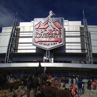 Photo taken at Sports Authority Field at Mile High by Leora R. on 12/2/2012