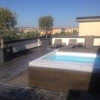 Photo taken at Pulitzer Hotel Rome by Domenico I. on 9/23/2013