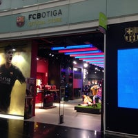Photo taken at FCBotiga Official Store by Alex on 1/13/2014