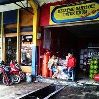Photo taken at Bunderan Cibiru by Ikhlasul A. on 1/1/2014