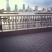 Photo taken at Battery Park City by Tanvee on 3/26/2013