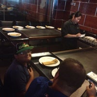 Photo taken at Fuji's Hibachi Asian Fusion by Erica M. on 7/21/2012