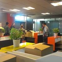 Photo taken at Leonardo Business Centre by Ksenia L. on 10/2/2014