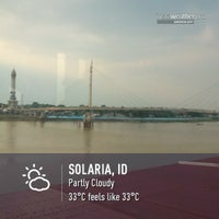 Photo taken at Solaria by Dede SP on 7/23/2015