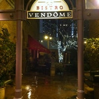 Photo taken at Bistro Vendome by Cathy S. on 11/11/2012