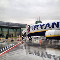 Photo taken at Bydgoszcz Ignacy Jan Paderewski Airport (BZG) by Roman on 9/9/2013