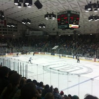 Photo taken at Thompson Arena at Dartmouth by Luke M. on 3/3/2013