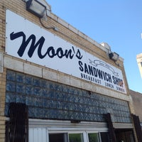 Photo taken at Moon's Sandwich Shop by Michael Walsh A. on 6/21/2016
