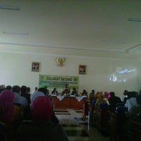 Photo taken at Kantor Bupati Lombok Utara by Rio L. on 1/9/2013