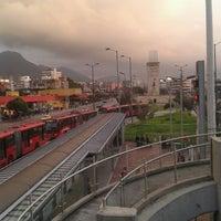Photo taken at TransMilenio: Héroes by Francy Lorena C. on 3/19/2013