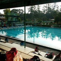 Photo taken at Karang Setra Swimming Pool by ルレイ (. on 6/18/2014